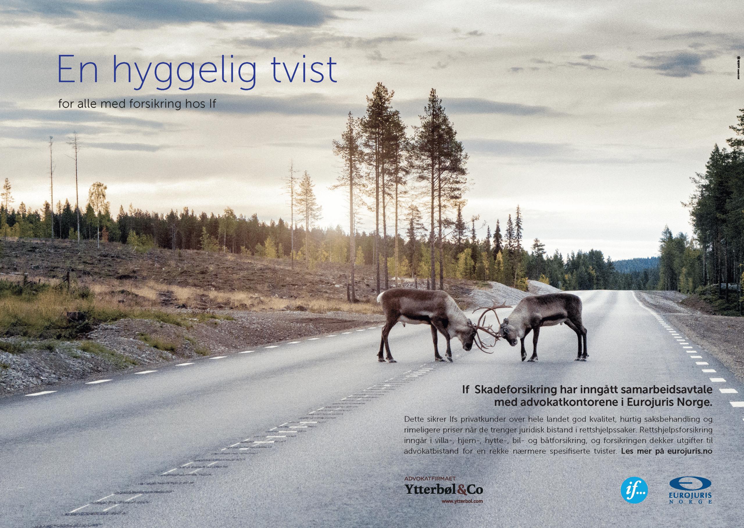 Har du forsikring fra If får du nå avtalepris hos Advokatfirmaet Ytterbøl
